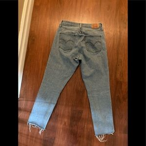 """Levis High rise skinny ankle crop jeans 30 x 32"""""""
